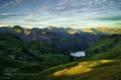 The Eye of the Mountains (PhoenixRoofing164) Tags: mountain lake alps germany bayern bavaria alpen bergsee