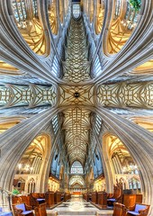 St. Mary Redcliffe church, Bristol (Londonietis) Tags: england panorama church canon bristol stmaryredcliffe redcliffe hdr photomatix samyang vertorama londonietis kestasbalciunas