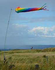 Wind and rain (Edmund Shaw) Tags: rain weather view wind windsock