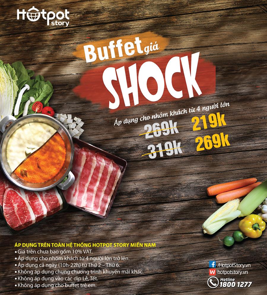 Buffet Giá Sốc | Hotpot Story Tp.HCM