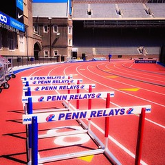 #pennrelays #franklinfield #theredandblue #visitphilly (deirdrelovestrees) Tags: square squareformat mayfair iphoneography instagramapp uploaded:by=instagram