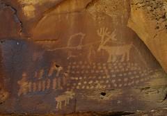 Rock art of Nine Mile Canyon #51  [explore] (jimsawthat) Tags: stone rural utah historic nativeamerican highdesert rockart petroglyphs ninemilecanyon