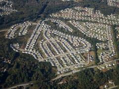 Aerial (Daquella manera) Tags: suburbia aerial land division development