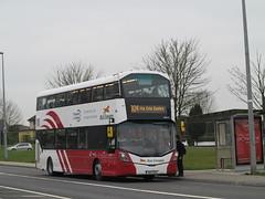 VWD51 - Rt304 - St. Nessan's Rd - 210316 (dublinbusstuff) Tags: irish bus limerick doubledecker universityoflimerick buseireann raheen wrightgemini vwd51