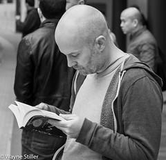 good book (Wayne Stiller) Tags: street people london modern book society interest phones ignore