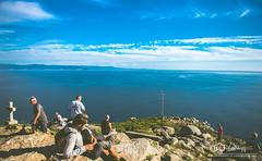 Finisterre (fergarlaura) Tags: blue santiago sky de photo nikon camino galicia filter fin caminodesantiago peregrino finisterre fisterra calidade