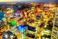 Sydney City Skyline at Night (Stuart Beards) Tags: city skyline night lights sydney harbourbridge cityskyline sydneyharbourbridge skywalk sydneycity sydneyarchitecture sydneyatnight sydneyharbournight sydneytowereye sydneynightskyline sydneycityskylineatnight