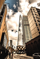 The Shard - London (EugeneKup) Tags: city sky london architecture skyscraper buildings shard theshard instagramstyle