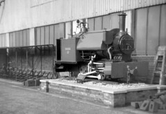 mystery - plinthed ng 0-4-0st where please c60 JL (johnmightycat1) Tags: railway loco plinth