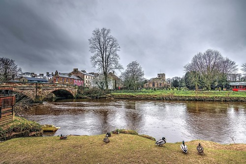 View of Appleby in Westmorland, Cumbria