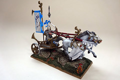 High Elves Chariot (Bronzetooth) Tags: high battle elf fantasy age warhammer chariot agents elves sigmar swifthawk