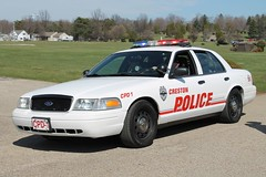 Creston Police Department Ford Crown Victoria (Seluryar) Tags: ohio ford police victoria funeral crown department creston