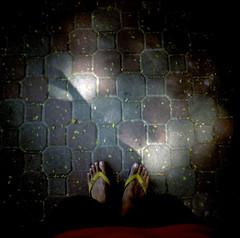 Between Shadows (mcdeck) Tags: film analog 35mm square lomo lomography mini ishootfilm diana squareformat analogue filmisnotdead dianamini