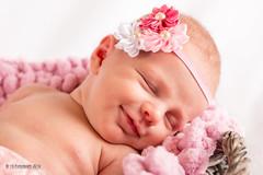 funny dreams (JuttaV.) Tags: sleeping baby girl canon studio happy funny newborn dreams lustig schlafen mdchen traum studiowork neugeborenes newbornphotography 5dmarkiii vsfototeam