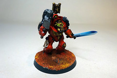 Blood Angels Terminator Sergeant (Bronzetooth) Tags: blood 40k angels warhammer shield terminator baal terminators deathstorm
