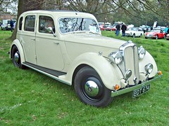 395 Rover Twelve P2 Saloon (1947) (robertknight16) Tags: rover 1940s british twelve weston p2 edt674