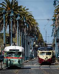 (seua_yai) Tags: sanfrancisco california people urban usa america publictransit wheels thecity muni bayarea northamerica historicstreetcar streetstreetcar sanfrancisco2016