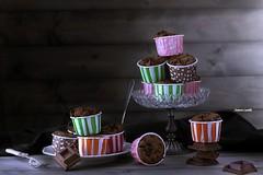 Muffin al cioccolato di california bakery (lanaebiscotti) Tags: california stilllife food cake dessert photography chocolate delicious foodporn bakery muffin cioccolato