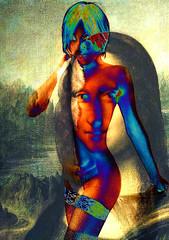 La Mona Arlequine (el_papou) Tags: monalisa mona arlequine