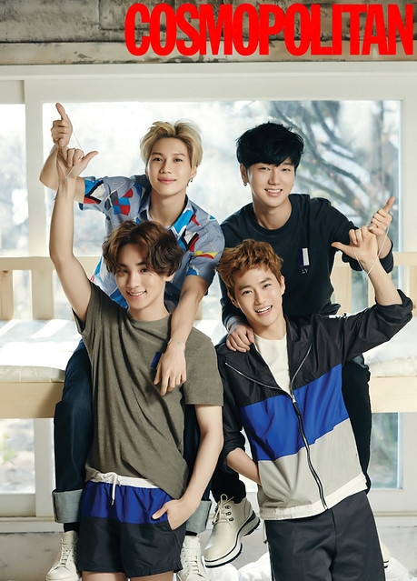 Key y Taemin @ Cosmopolitan Korea - Febrero 2016 26314536490_1fa0c35803_z