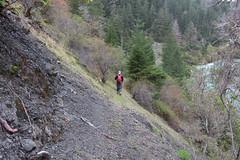 Descending towards Silver Creek (rozoneill) Tags: ranch beach oregon creek forest silver river gold hiking peak trail national backpacking rogue siskiyou frantz agness llinois