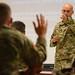 Infantry CSM visits 183rd RTI