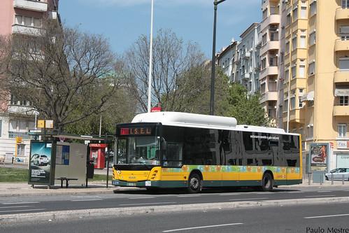 MAN 18.310 GNC Caetanobus CI512 CCFL 2815, Avenida Almirante Reis, 5 de Abril de 2015