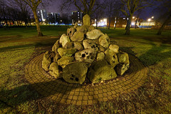 The Anvil Stones, Bloxwich 14/01/2016 (Gary S. Crutchley) Tags: park street uk travel england urban black west color colour heritage history industry leather night dark ed evening town nikon long exposure raw industrial factory slow nightscape shot nightshot image time britain stones united country great kingdom s shutter after local recreation nightphoto af nikkor foreign townscape staffordshire awl grounds westmidlands blades walsall anvil factories midlands d800 manufacturing blackcountry staffs 1635mm nightimage nightphotograph f40g bloxwich walsallweb walsallflickr