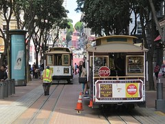 World's Last Manually Operated Cable Car System (codeeightythree) Tags: sanfrancisco california car hill cable muni cablecar workhorse