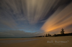 J E T. (matt burman) Tags: ocean longexposure sunset sea seascape beach sunrise landscape nightscape nt gove nhulunbuy eastarnhemland