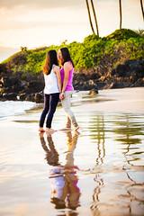 Maui Photographer Sunset Shoot (brandon.vincent) Tags: sunset red love beach sex hawaii couple maui same wins polo wailea