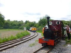 P1050726 (Hampton & Kempton Waterworks Railway.) Tags: diesel loop galaday 2015 darent spelthorne