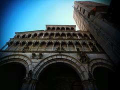 Lucca - Sfntul Ferdinand (StefanJurcaRomania) Tags: italien italy facade italia cathedral dom kathedrale lucca tuscany toscana fassade toskana catedrala catedral