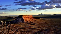 Ugab terraces (flowerikka) Tags: sunset mountain terraces valley namibia ugab