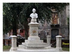 Monumento a Giovanni Pacini (fr@nco ... 'ntraficatu friscu! (=indaffarato)) Tags: italy italia villa sicily catania sicilia pacini villapacini