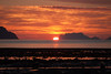 Nord-fugløya in red (afloden) Tags: mountain norway view no utsikt midnightsun fjell solnedgang ebb fjære troms midnattsol naturalphenomenon ebbtide naturfenomen kåfjord nordfugløya