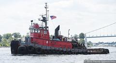 Tugboat - Lynx (Concert_Photos_Magazine) Tags: nyc usa ny newyork water boat unitedstatesofamerica spray 1967 tugboat tug flushing fossmaritime sterlingequipment martinolichshipbuilding 13035857283