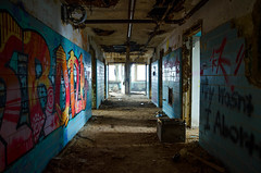 (Fatigued_23) Tags: old abandoned decay hallway forgotten asylum dilapidation abandonment dilapidated mentalinstitute