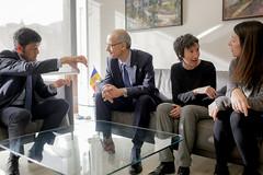 Reunió amb els cònsols d'Ordino.28-01-2016 (Govern d'Andorra) Tags: cap andorra riba ordino naudi cònsols mortés