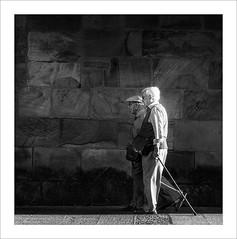 Veterans (ximo rosell) Tags: blackandwhite bw blancoynegro nikon squares social bn d750 soria solera veteranos paseig ximorosell