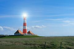 Lighthouse (Komaalex) Tags: blue sky lighthouse green rot grass st outside himmel samsung peter commercial northsea land blau f56 werbung nordsee flair leuchtturm pilsener landleben weis ording flairs jeder nx10