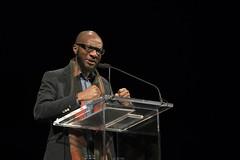 Teju Cole (lannanfoundation) Tags: red santafe literary nigeria writer lensic opencity amitavakumar tejucole nigerianauthor lannanfoundation readingandconversation everydayisforthethief