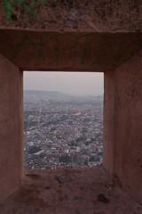 Jaipur, from Nahargarh Fort battlements (_NicoDem_) Tags: india canon fort mark ii 5d jaipur 2015 nahargarh 5dmarkii 5dmkii