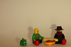 11 Of 366 (twizzle_212) Tags: cowboy picnic lego dinosaur january day11 366project