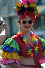 Certainly one of the most colorful women at Indy Pride. (kennethkonica) Tags: gay people woman usa hot color america lesbian fun happy nikon midwest faces random outdoor indianapolis group smiles indy indiana pride together persons global hoosiers massave marioncounty indypride nikond7100