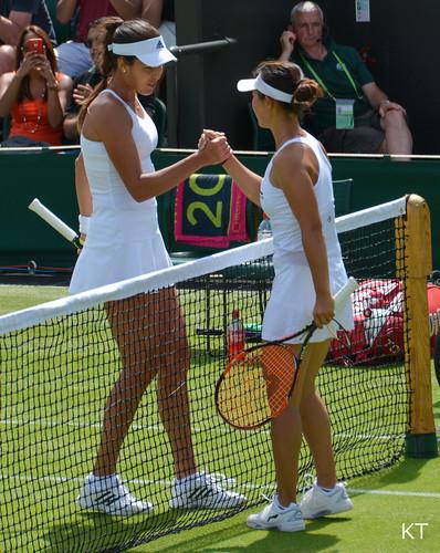 Ana Ivanovic - Ana Ivanovic & Yi Fan Xu