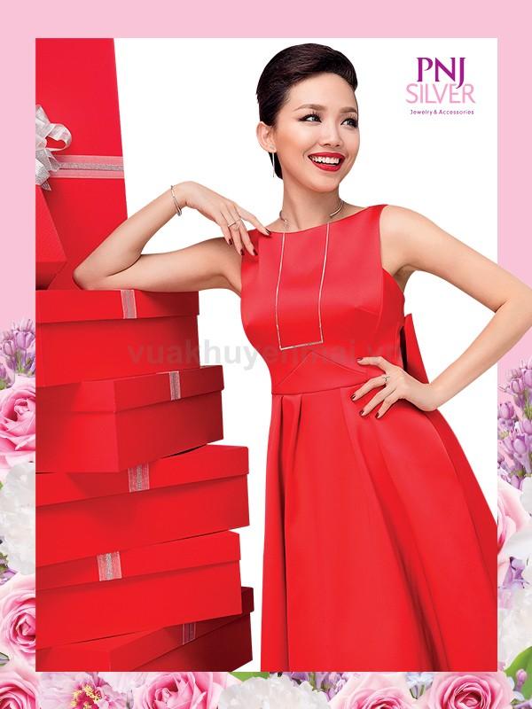 """Xinh tươi ngày tết cùng chương trình """"Happy Holidays, Happy Sale"""" cùng PNJSilver"""