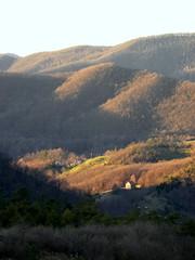 Masone_003_Passo Veleno_Valle Stura_01-16 (mi.da_me) Tags: masone liguria genova alta via monti liguri boschi cascine rurale tramonto passo vallico inverno crepuscolo