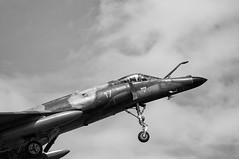 Dassault Super-Etendard (dimred1) Tags: bw france plane marine aircraft aviation military navy jet super nb airshow pilot avion militaryaviation militaryaircraft etendard superetendard fertealais aviondecombat