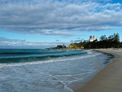 (Liseo) Tags: blue sea sky beach clouds sand waves australia qld queensland australie coolangatta 2015